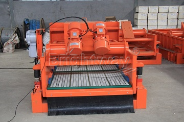 Front view of BWZS85-2P Shale Shaker