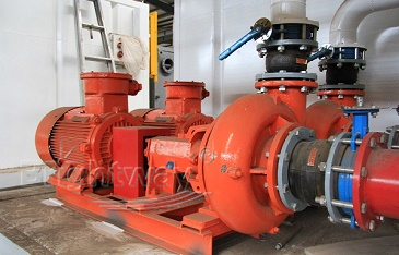 Centrifugal Pump Installed on Drilling Mud System