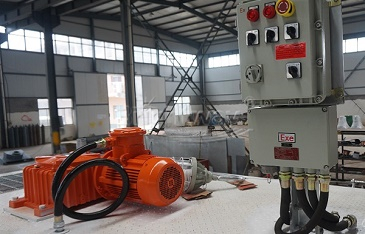 Mud Agitator Installed on Drilling Mud System