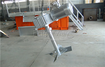 Mud Agitator Is galvanizing process