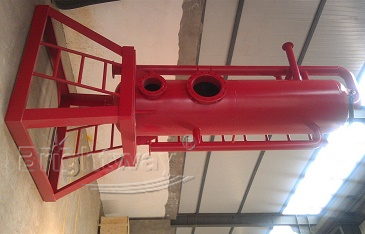 Front view of Brightway Mud Gas Separator