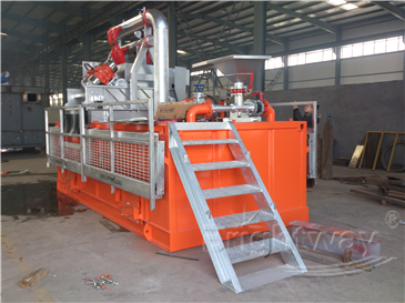 Brightway Mud Drying System in the field of environmental protection