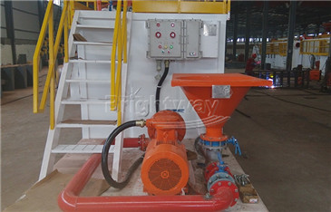Front view of Jet Mud Mixer