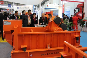 BWZS-4P SHALE SHAKER IN SHANGHAI Exhibition