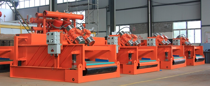 Shale shaker and Mud Cleaner of Brightway HDD Mud System