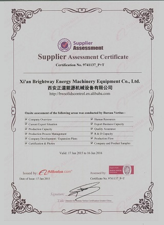 Brightway BV certification