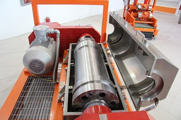 High Speed Decanting Centrifuges rotor drum