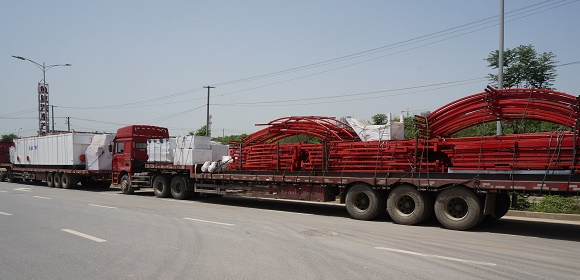 Brightway ZJ50 Mud System Shipment to Russia