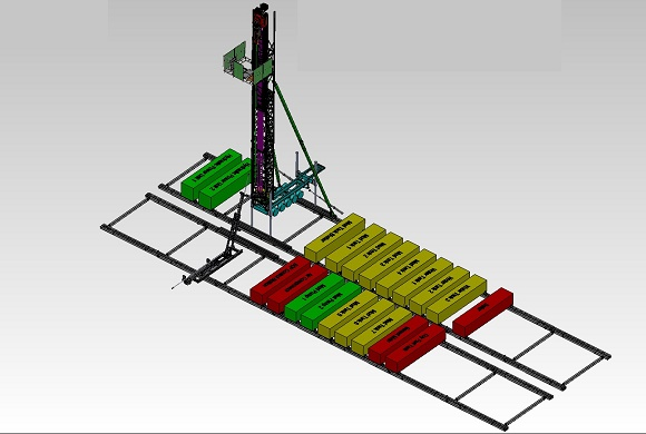 DRILLING RIG LAYOUT