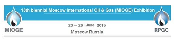 2015 Brightway 13th biennial Moscow International Oil & Gas (MIOGE) Exhibition