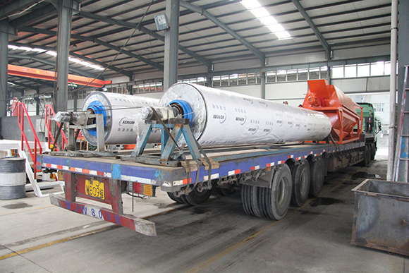 Brightway Drum Screen Shipped to Tianjin Port