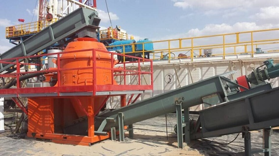 Brightway Cutting Dryer System turned waste into wealth in Drilling Site