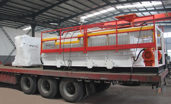 200GPM Mud Recovery System Sent To Australia