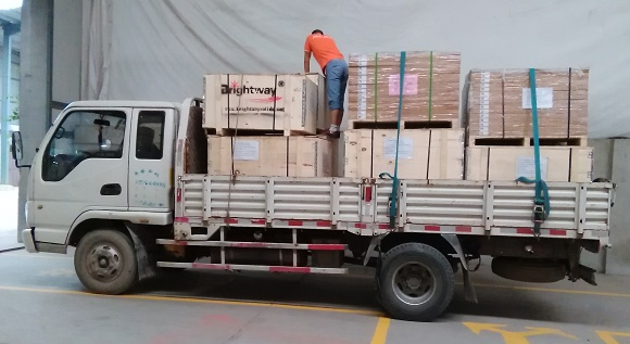 Brightway Shaker Screen Shipped to North Africa