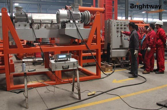 New Type Decanter Centrifuge Tested Successfully