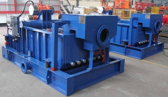 Two Sets Double-deck Shale Shaker