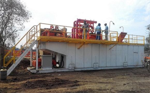 500GPM HDD Mud Recycling System in India