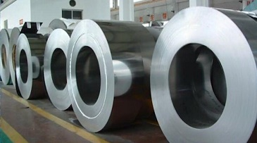 Hot Rolled Steel Coil Display