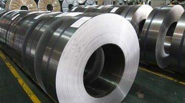 Hot Rolled Steel Coil in workshop