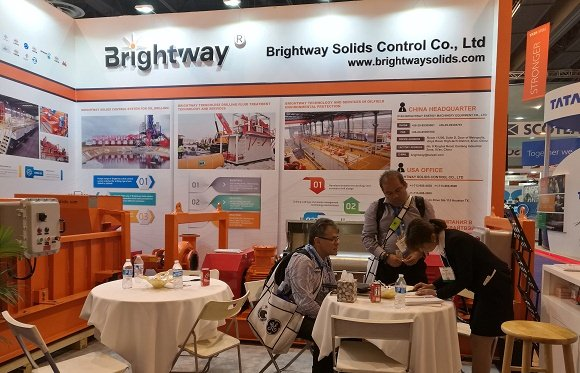 Brightway Showed in 1369-1 Booth