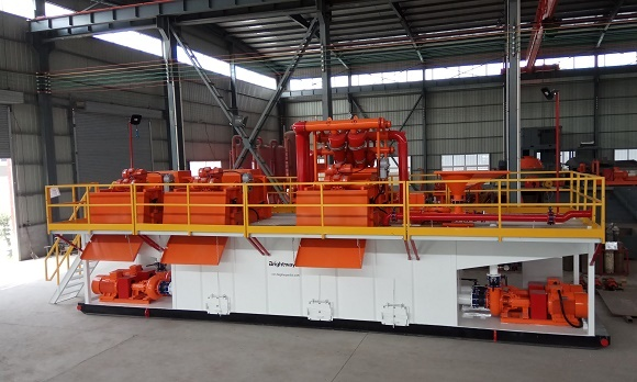 1000GPM HDD Mud Recycling System for Indian customer