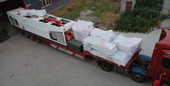 Shipment of 1000GPM Mud Recycling System