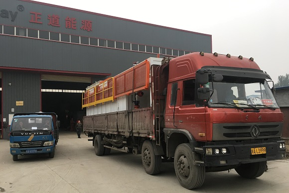 Shipment of 120m³/h CBM Drilling Mud Purification System