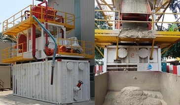 Micro-tunneling Separation Plant