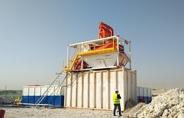 150m2/h Micro-tunneling Separation Plant
