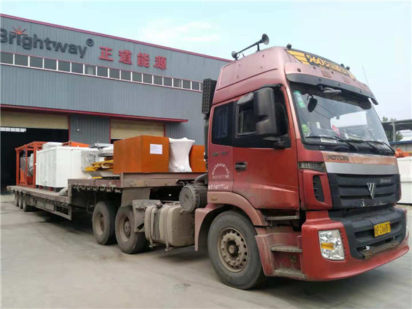 Sludge Dewatering System Shipped to Thailand in Southeast Asia