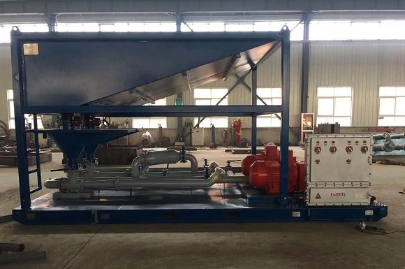 Drilling Mud Mixing Hopper for Australia Customer
