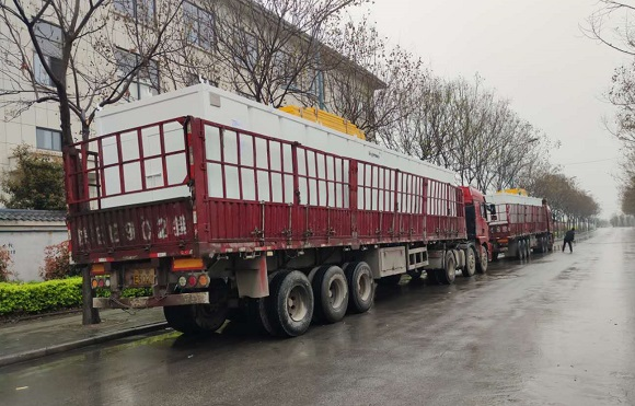 water tanks for 2000HP Drilling Rig Mud System Sent to Saudi Arabia